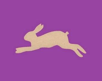 Blank MDF, Hare, rabbit, medium support