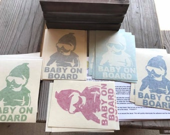 Vinyl Decal - Baby on Board