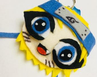 Naruto Uzumaki Plush keychains!! Handmade