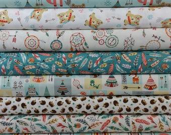 Camp-A-Long Critters Bundle from Studio E Fabrics - 8 Fabrics