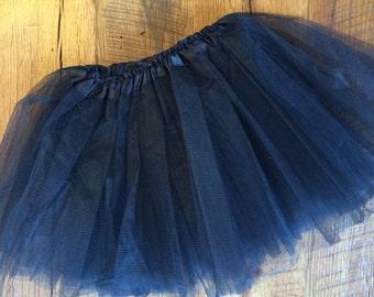 Black Tulle Tutu Dance Skirt