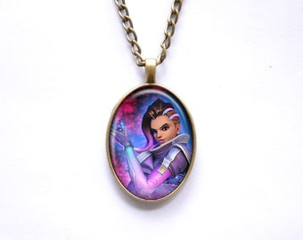 Necklace Overwatch Sombra