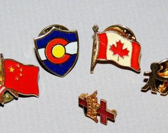 Vintage assortment of pins