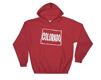 Colorado, State of Colorado Hooded Sweatshirt, Hoodie