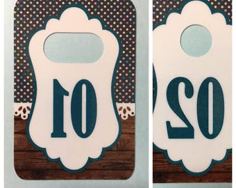 50 Non-Digital Tags Reverse Printed for FaceBook Live Sales