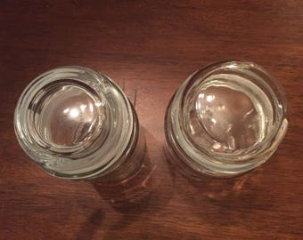 Glass Jars with matching lid