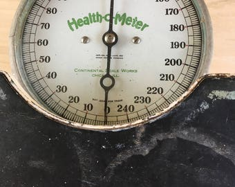 Bathroom scale--Health O Meter
