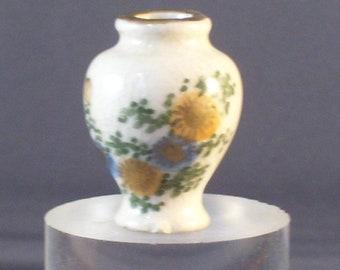 Miniature Japanese Pottery Vase Midcentury 1950s-60s