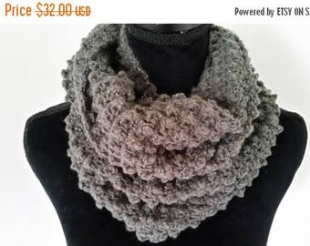 ON SALE Infinity Scarf - Cowl Scarf, Chunky Scarf, Scarves for Women, Neckwarmer Scarf, Handmade Scarf, Gifts for Her