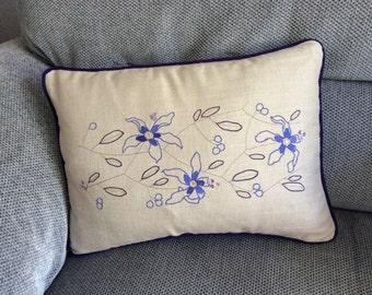 Clematis cushion