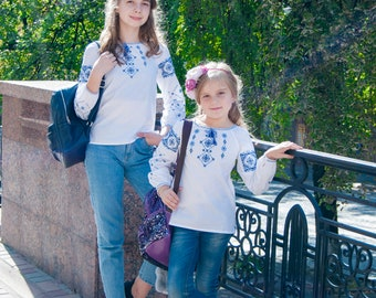 FREE SHIPPING! Ukrainian Vyshyvanka  for girls, Embroidered