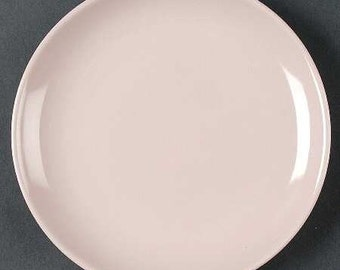 Russel Wright Iroquois Pink Sherbet Bread Butter Plate