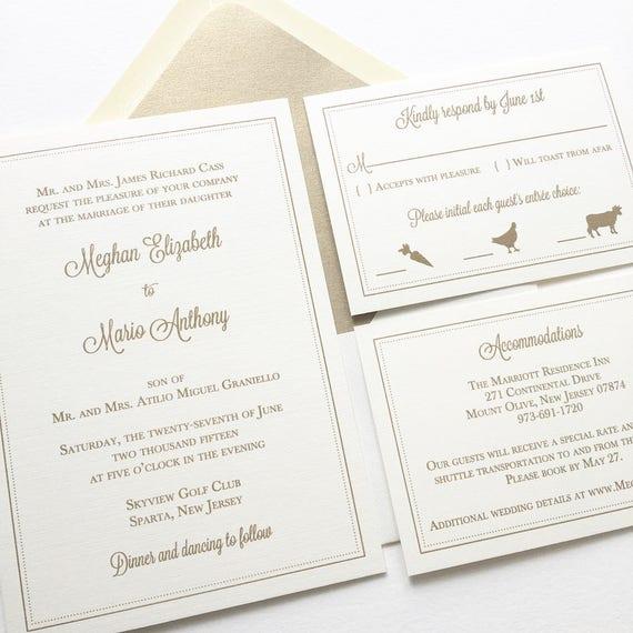 Classic wedding invitation wedding invitation with border stopboris Images