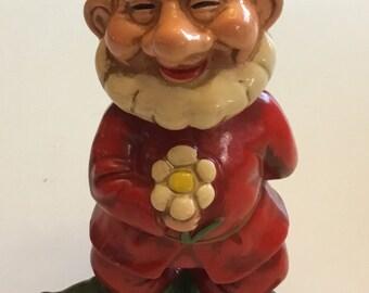 Vintage Handpainted Gnome Elf Japan 1960's