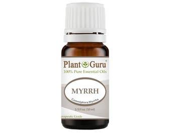 Myrrh Essential Oil  100% Pure, Undiluted, Therapeutic Grade.