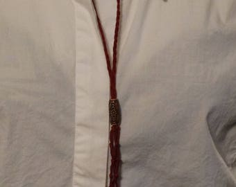 Burgundy Interchangeable Necklace
