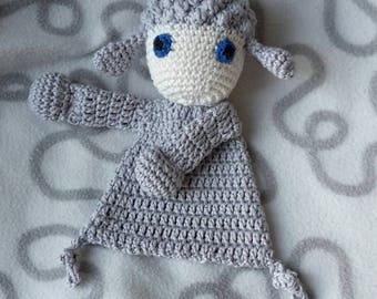 "Crochet rag doll ""Lamb"""