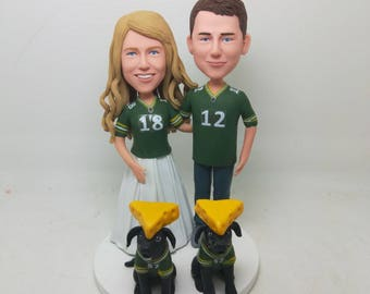 Packers cake topper | Etsy