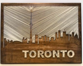 String Art- Toronto Skyline