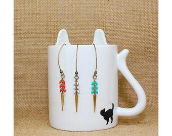 ANNETTE - Spike earrings