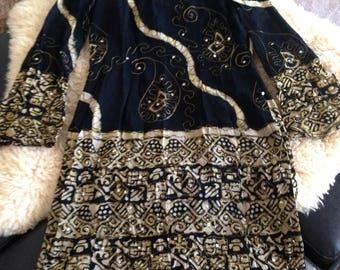EMBELISHED INDIAN DRESS