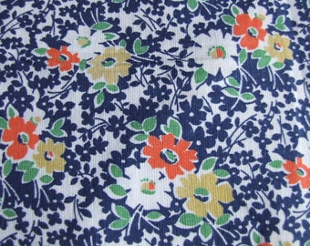 1950's,1940's, floral, dressmakng, ditsy, cotton fabric