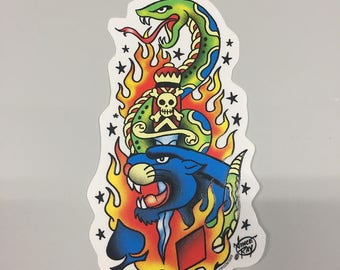 Car Decal - Tattoo by Vince Ray