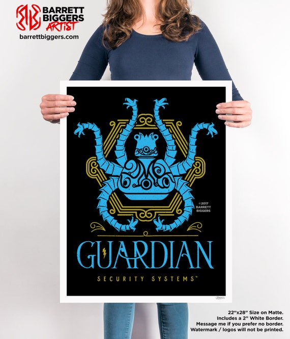 Legend Of Zelda Breath The Wild Inspired Guardian Security