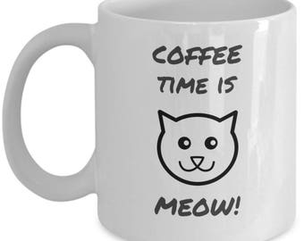Coffee Time is Meow