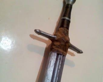 worn longsword prop