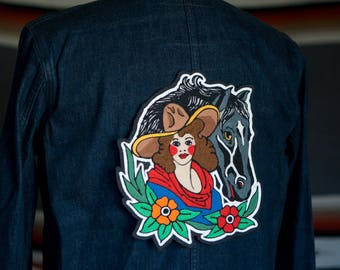 Chainstitch Sweetheart of the Rodeo Patch