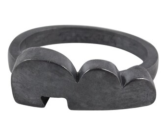 William Griffiths Sterling Silver Cloud Ring