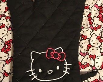 Hello Kitty Oven Mitt