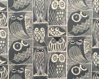 custom bandana bib ~ orion blue moon owls ~ drool bib ~ chic couture ~ baby accessories ~ custom made bandana bib from lillybelle designs
