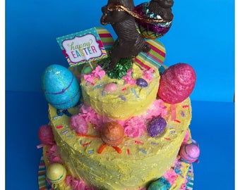 Three Tier Easter Cake