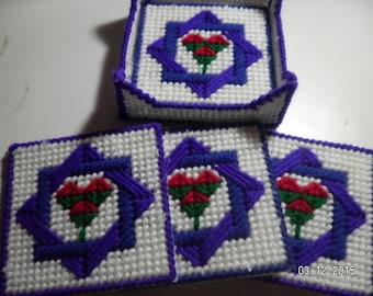 Interlocking Square Coasters