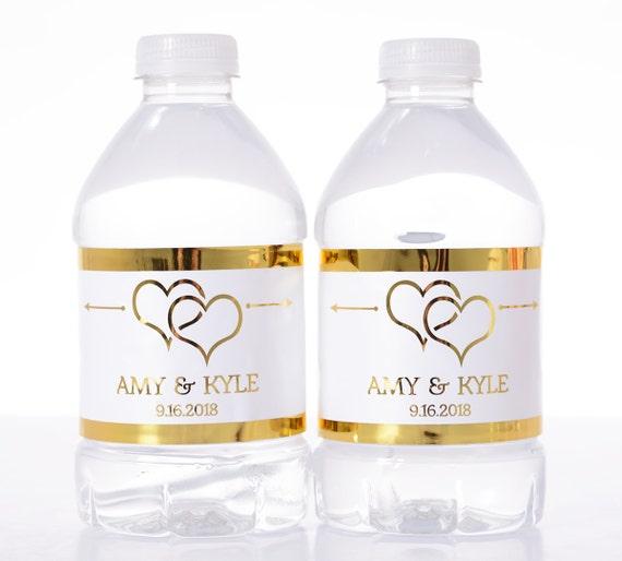favors gifts photos custom water bottle labels inside weddings