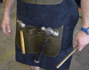 NZ Made Leather Workshop Apron