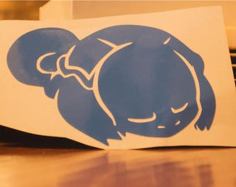 Sleeping Squirtle (Sleep Tight Series Stickers)