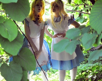 Alice in Wonderland 1951 Free Shipping Halloween costume for  Adult