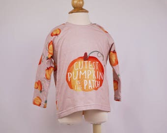 Unisex Baby Clothes, Gender Neutral Baby, Pumpkin Shirt, Baby Boy Shirt, Baby Girl Shirt, Fall Baby Clothes, Halloween Shirt, Size 12-18mos