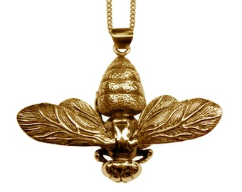 Bee Insect Necklace