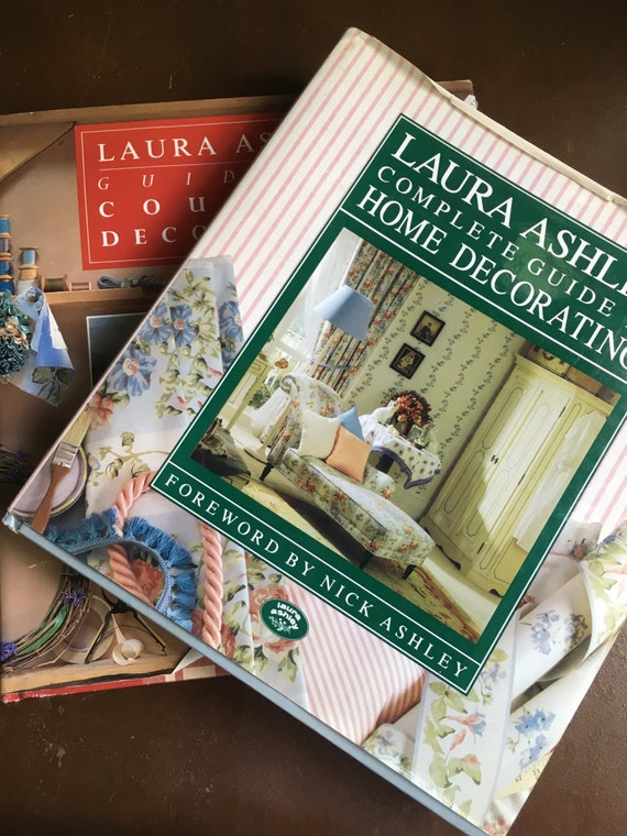 Vintage Laura Ashley Home Decorating and Country Decorating Books ...