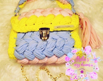 Crochet Clutch Bag/Fashion bag/Unique bag/Crochet/Clutch bag/Summer bag/Handmade