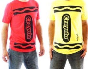 Crayola shirt / crayon shirt / Halloween costume