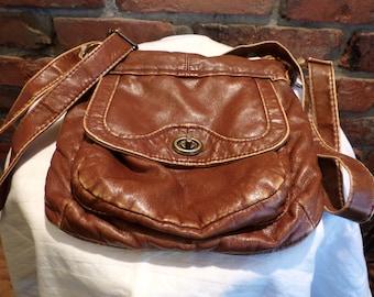 Brown Mudd Cross Body Purse, Cross body purse, Mudd purse, Small cross body purse, Morethebuckles, Name brand purse