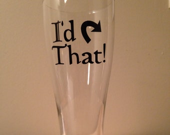 Magic: the Gathering I'd Tap That Pilsner Beer Glass