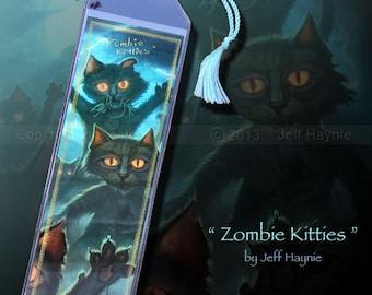 Zombie Kitties bookmark