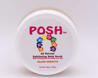 All Natural Exfoliating scrub with walnut shell powder