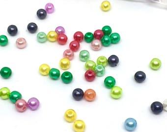 500 beads, 4 mm